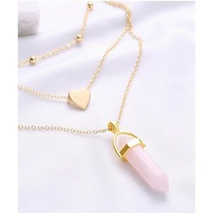 Jewelry - **NEW!!** Gold Charm Necklace